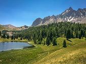 Lac miroir (Mirror lake), Queyras, the Alps, France