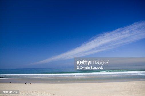 Lacanau ocean beach