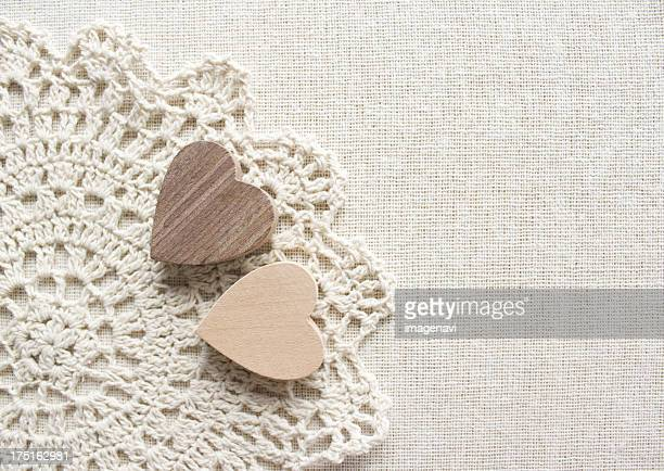 Lace and hearts