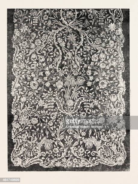 Lace Curtain By Messrs Heyman And Alexander Nottingham UK