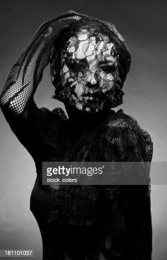 lace woman