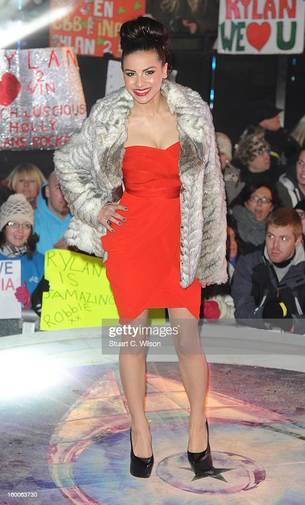 Lacey Banghard attends the Celebrity Big Brother Final at Elstree Studios on January 25, 2013 in Borehamwood, England.