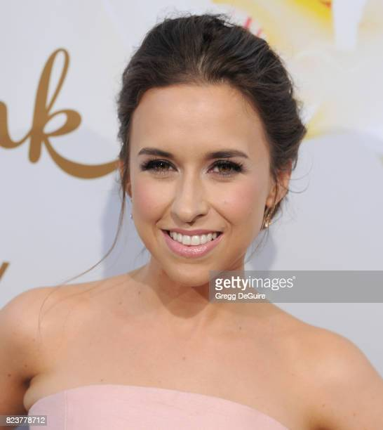 Lacey Chabert arrives at the 2017 Summer TCA Tour Hallmark Channel And Hallmark Movies And Mysteries at a private residence on July 27 2017 in...