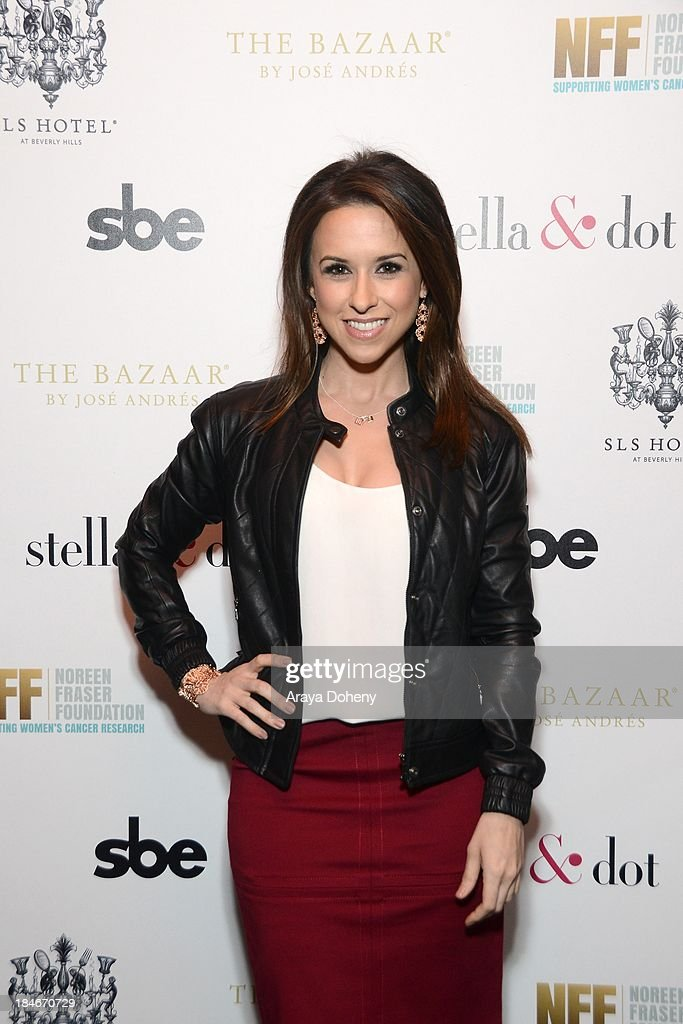 Lacey Chabert attends the Stella & Dot Trunk Show Benefiting The Noreen Fraser Foundation at The Bazaar at the SLS Hotel Beverly Hills on October 14, 2013 in Los Angeles, California.