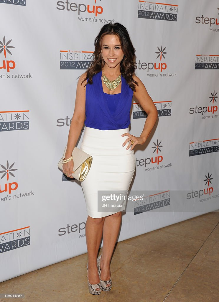 Lacey Chabert attends the StepUp Women's Network 9th Annual Inspiration Awards at The Beverly Hilton Hotel on June 8, 2012 in Beverly Hills, California.