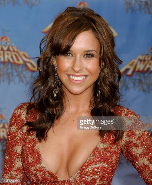 Lacey Chabert during 2005 MTV Movie Awards Arrivals at Shrine Auditorium in Los Angeles California United States
