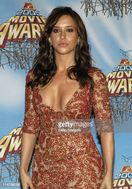 Lacey Chabert during 2005 MTV Movie Awards Press Room at Shrine Auditorium in Los Angeles California United States