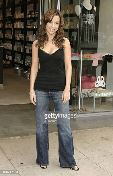 Lacey Chabert during Lacey Chabert at the Beauty Bar at The Beauty Bar in Beverly Hills California United States