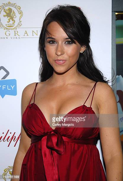 Lacey Chabert during Nick Lachey Hosts YFly Launch at The Grand at The Grand in New York City New York United States