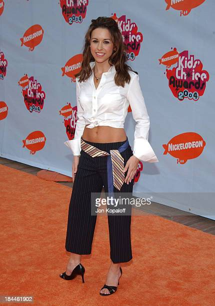 Lacey Chabert during Nickelodeon's 17th Annual Kids' Choice Awards Arrivals at Pauley Pavillion in Westwood California United States