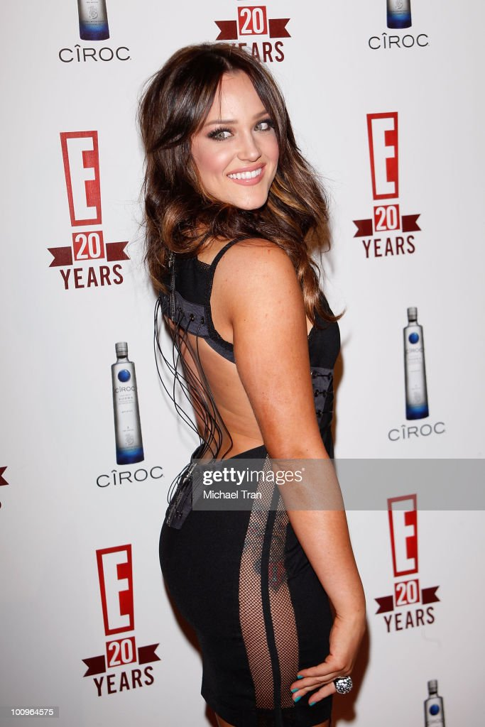 Lacey Schwimmer arrives to E! 20th Birthday Celebration held at The ...