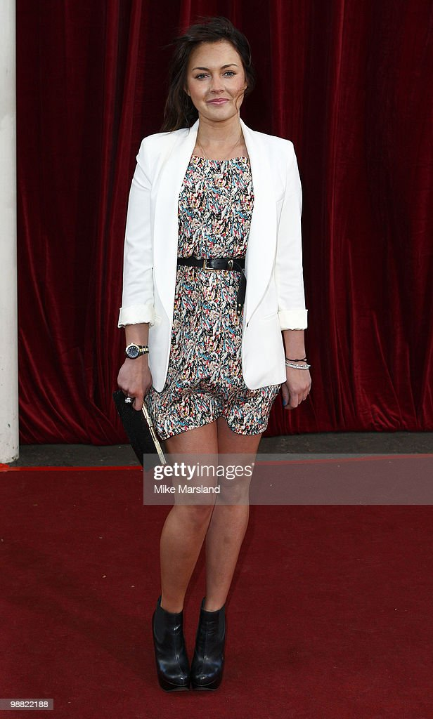 Lacey Turner attends 'An Audience With Michael Buble' at The London Studios on May 3 2010 in London England