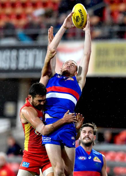 AUS: AFL Rd 8 - Gold Coast v Western Bulldogs