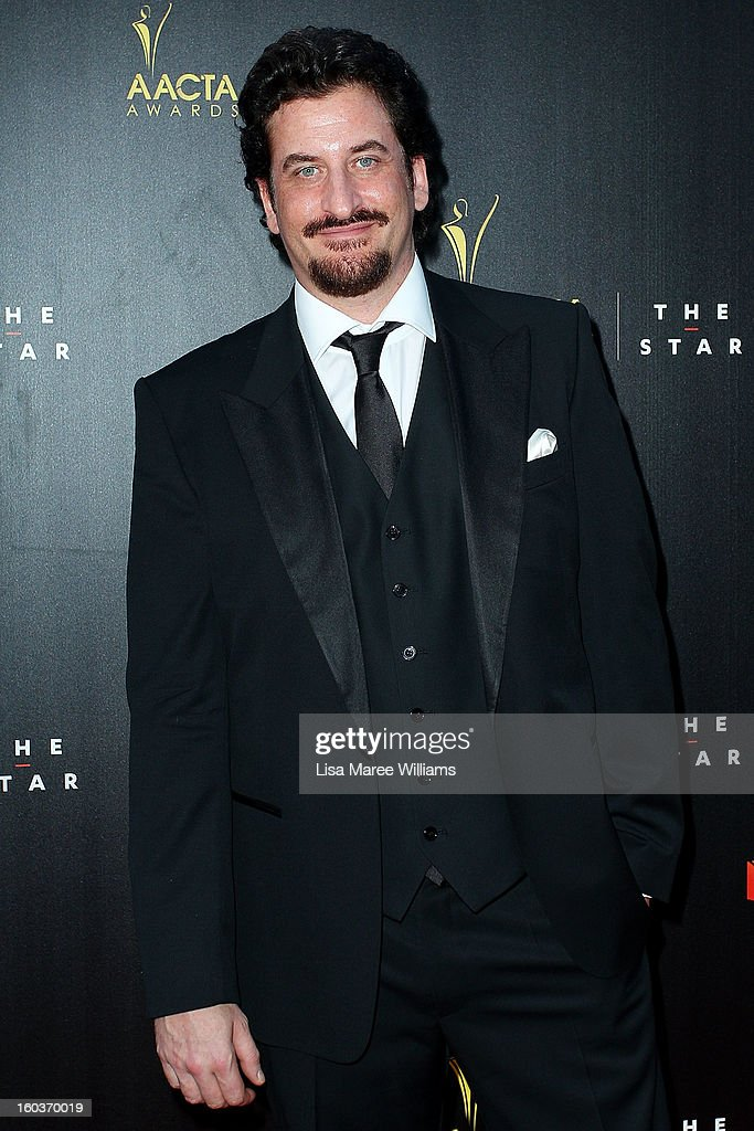 Lachy Hulme arrives at the 2nd Annual AACTA Awards at The Star on January 30, 2013 in Sydney, Australia.