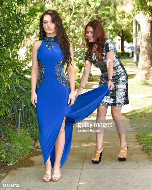 Laci Kay and Ali Levine attend Celebrity Stylist Ali Levine Dresses Today's Influencers For Prom/Spring Fling Event at Pistol Stamen on April 13 2017...