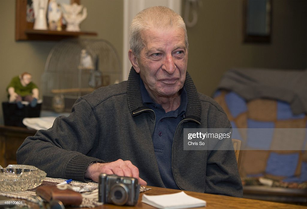LacMégantic area resident Marcel Larrivée describes the night of the train derailment from his kitchen table at his home Larrivée has documented the...