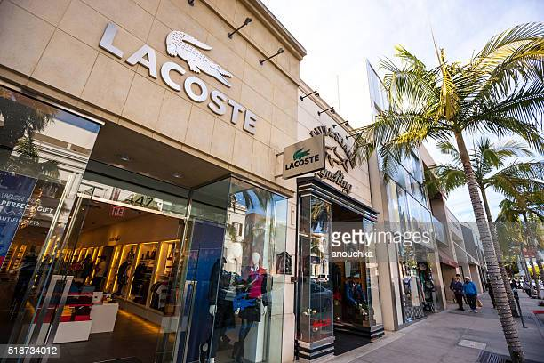 Lacoste Store on Rodeo drive, Beverly Hills, USA