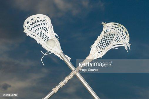Lacrosse sticks
