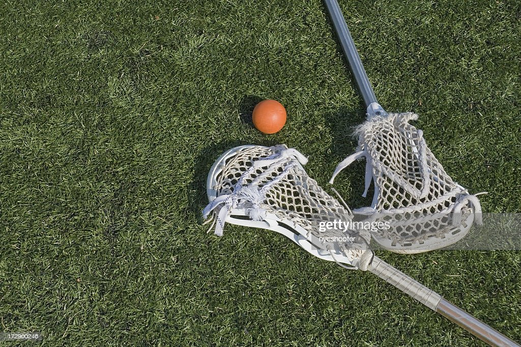 Lacrosse stix and ball