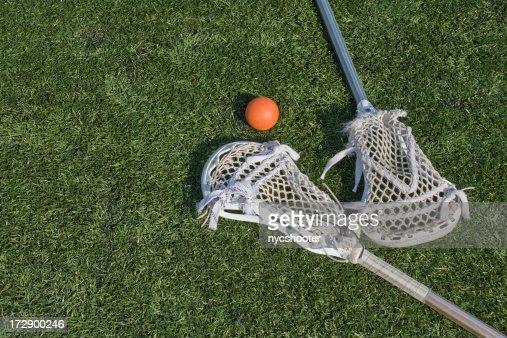 Lacrosse stix and ball