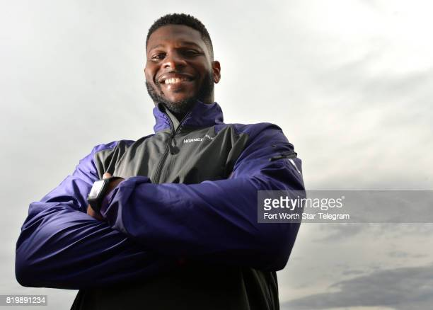 LaDainian Tomlinson poses for a portrait at the Vaquero Country Club on January 17 in Westlake Texas