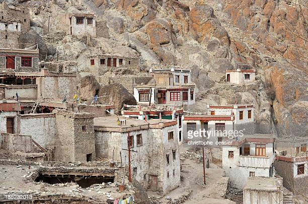 Ladakh, Tibetan monastery houses