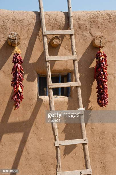 Ladder, Adobe and Chili Peppers