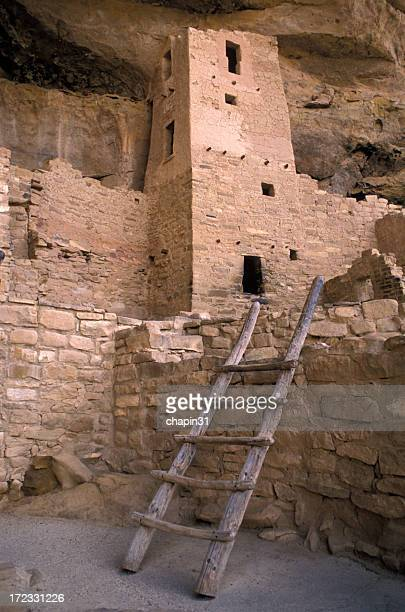 Ladder and Tower at Mesa Verde