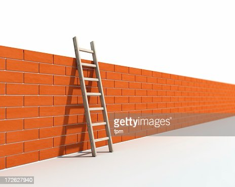 Ladder and Wall I