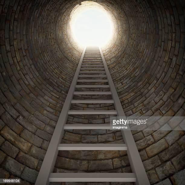 Ladder In A Dark Well