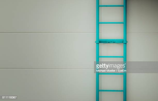 Ladder on wall
