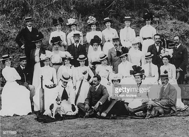 A ladies' cricket team circa 1910