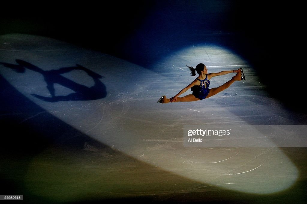 Ladies Silver Medalist Sasha Cohen of the United States performs during the gala exhibition of the figure skating during Day 14 of the Turin 2006...