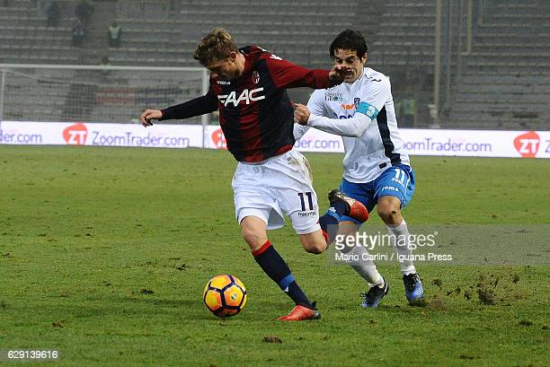 Ladislav Krejici of Bologna FC in action during the Serie A match between Bologna FC and Empoli FC at Stadio Renato Dall'Ara on December 11 2016 in...