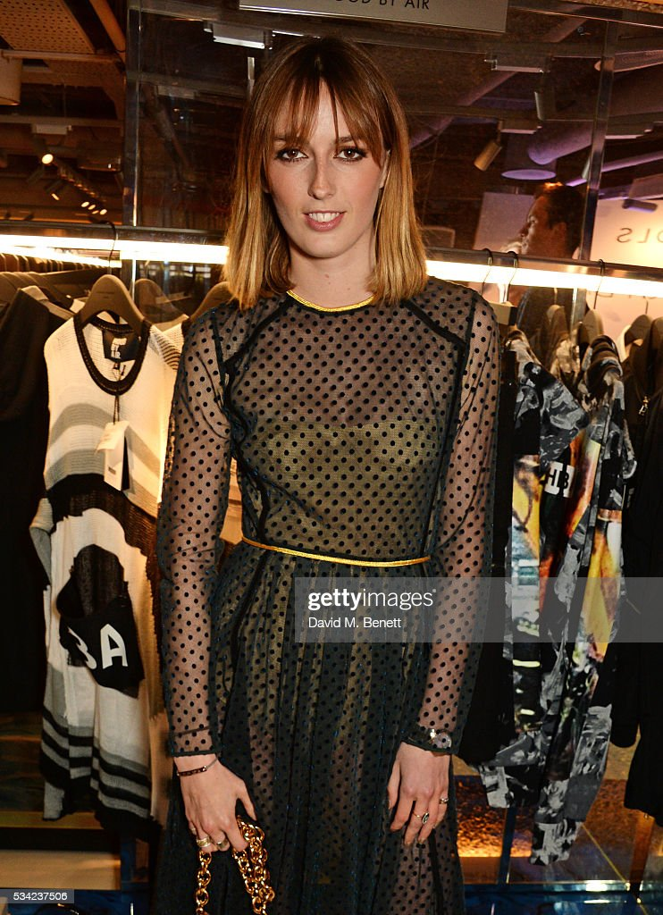 Lady Alice Manners attends the London Evening Standard Londoner's Diary 100th Birthday Party in partnership with Harvey Nichols at Harvey Nichols on May 25, 2016 in London, England.
