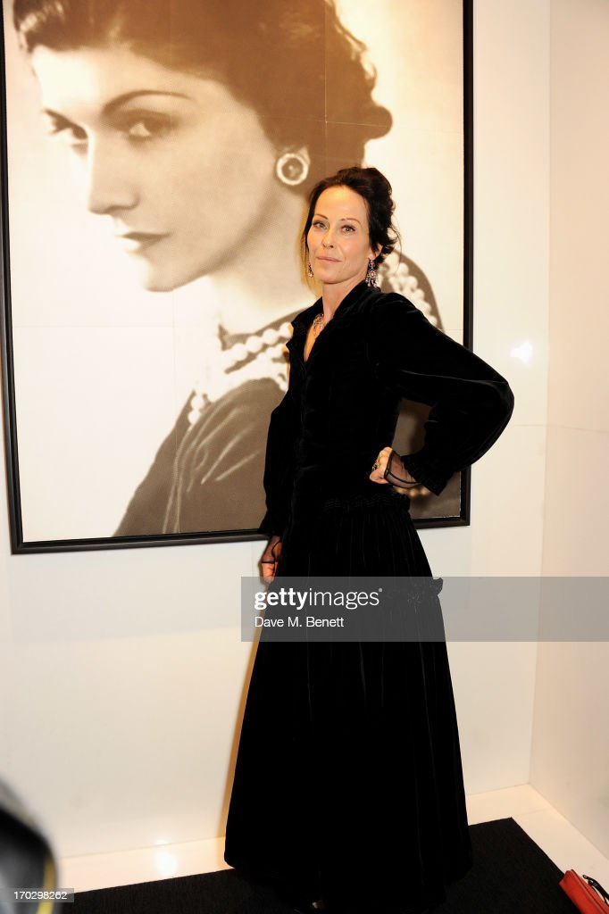 Lady Amanda Harlech attends a private view of the new CHANEL flagship boutique on New Bond Street on June 10, 2013 in London, England.