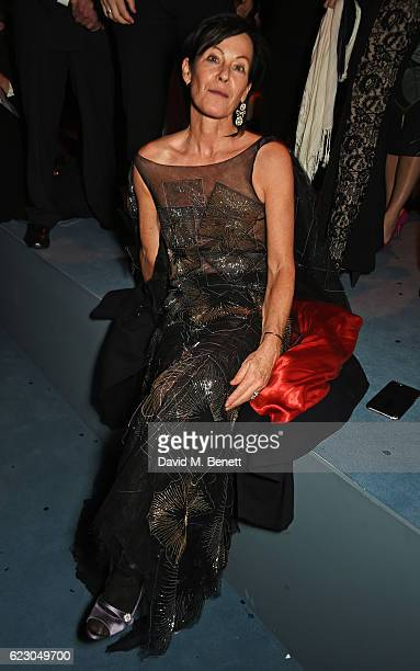 Lady Amanda Harlech attends The 62nd London Evening Standard Theatre Awards after party recognising excellence from across the world of theatre and...