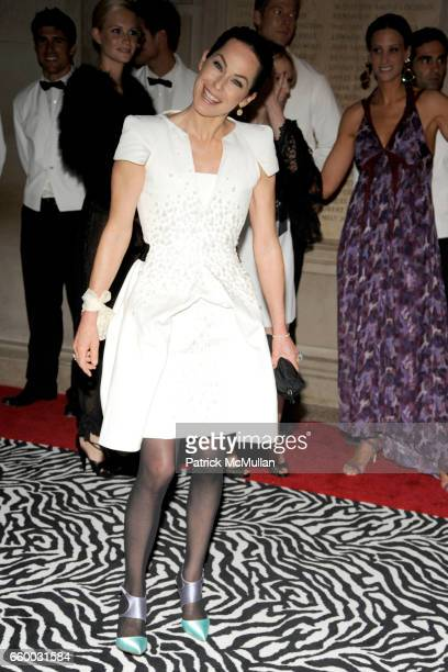 Lady Amanda Harlech attends THE COSTUME INSTITUTE GALA 'The Model As Muse' with Honorary Chair MARC JACOBS INSIDE at The Metropolitan Museum of Art...