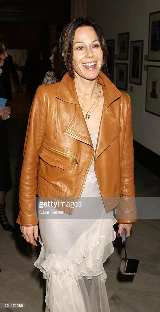 Lady Amanda Harlech, Fashion Photographer Mario Testino Attracted All The Most Glamorous Women In London To His Exhibition At The National Portrait Gallery.
