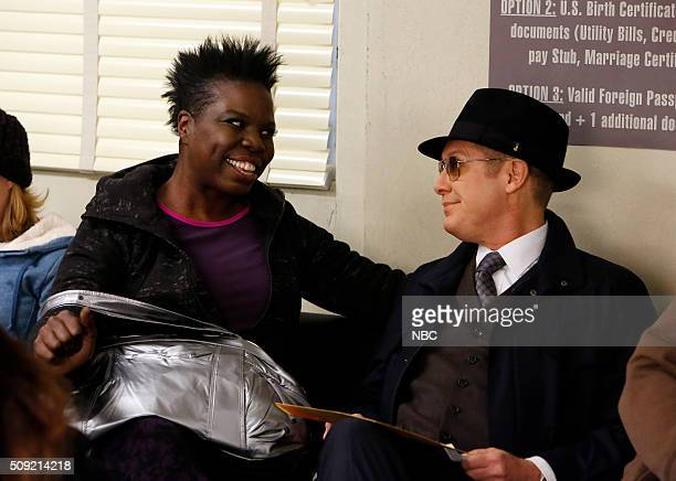 THE BLACKLIST 'Lady Ambrosia' Episode 314 Pictured Leslie Jones as Woman James Spader as Red Reddington