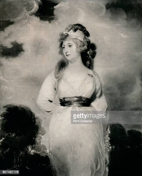 Lady Amelia Anne Hobart Vicountess Castlereagh Marchioness of Londonderry' circa 1800 'Lady Amelia Anne Hobart Painting held at Blickling Hall...