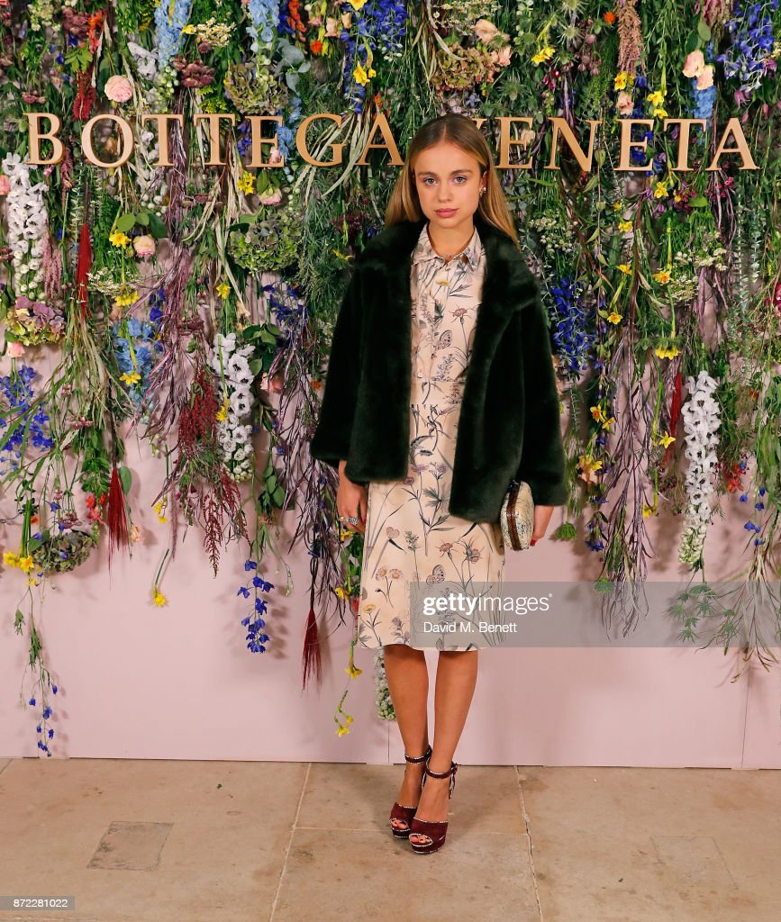 Lady Amelia Windsor attends Bottega Veneta's 'The Hand of the Artisan Cocktail Dinner' at Chiswick House And Gardens on November 9, 2017 in London, England.