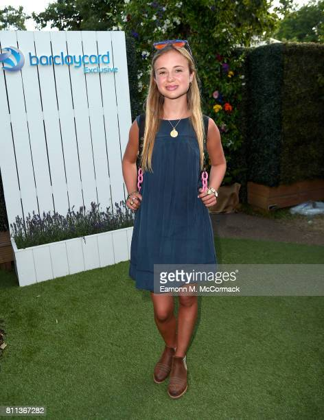 Lady Amelia Windsor attends the Barclaycard Exclusive British Summer Time Festival at Hyde Park on July 9 2017 in London England