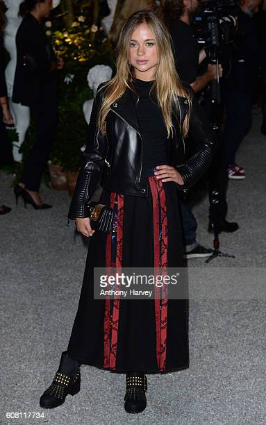 Lady Amelia Windsor attends the Burberry show during London Fashion Week Spring/Summer collections 2017 on September 19 2016 in London United Kingdom