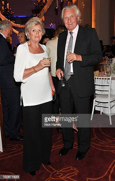 Lady Anne Heseltine and Lord Michael Heseltine attend the Yota sponsored after party for the launch of Mikhailovskys Swan Lake on July 13 2010 in...