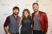 Lady Antebellum attends 'The Best of Me' screening at the CMA Theater at the Country Music Hall of Fame and Museum on October 9 2014 in Nashville...