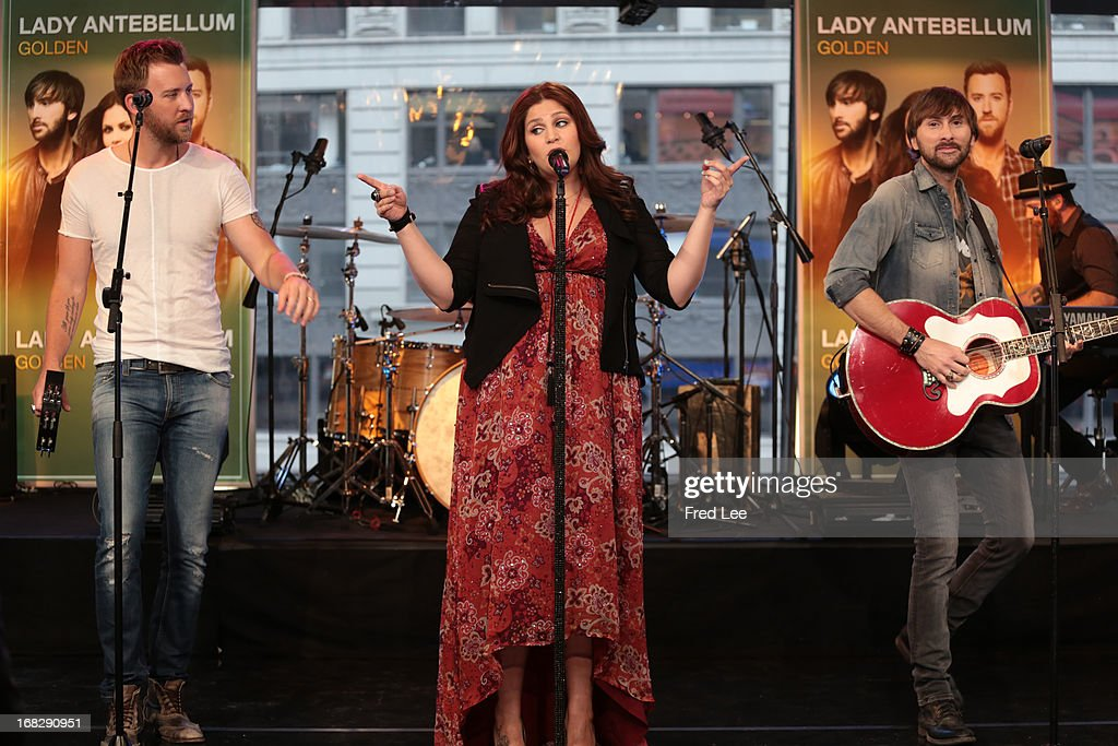 AMERICA - Lady Antebellum performs live on 'Good Morning America,' 5/7/13, airing on the ABC Television Network. (Photo by Fred Lee/ABC via Getty Images) LADY