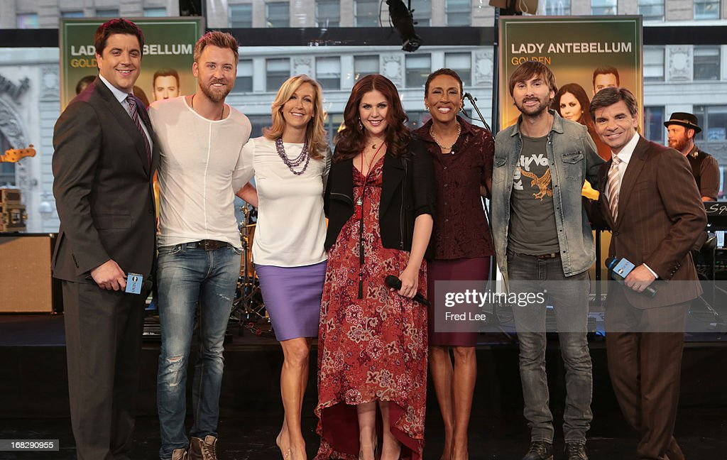AMERICA - Lady Antebellum performs live on 'Good Morning America,' 5/7/13, airing on the ABC Television Network. (Photo by Fred Lee/ABC via Getty Images) JOSH