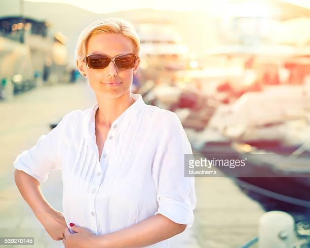 Lady à quai