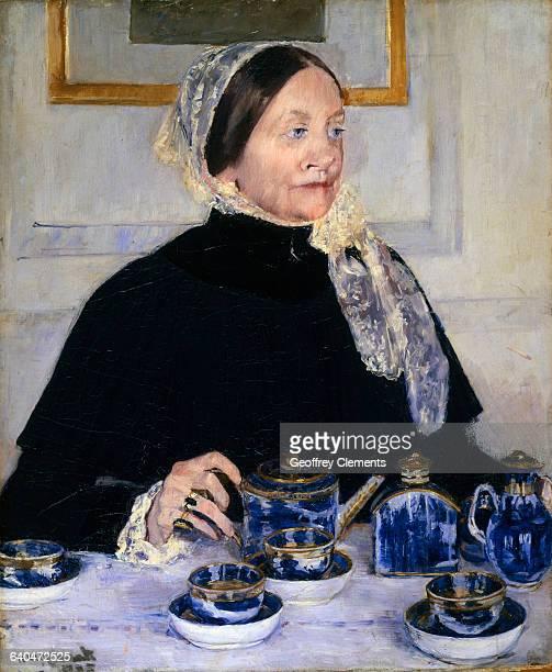 Lady at the Tea Table by Mary Cassatt